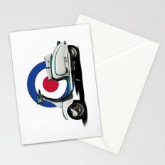 Mod scooter Stationery Cards