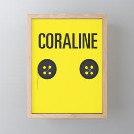 Coraline Framed Mini Art Print