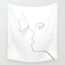 Lovers-Minimlism Wall Tapestry