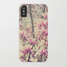 Magnolia Blossoms Early Spring Botanical iPhone X Slim Case