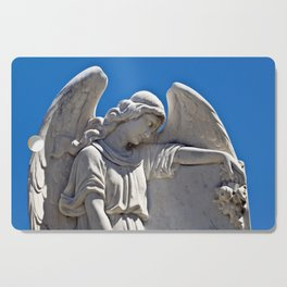 White Angel on the Isle of Sicily Cutting Board