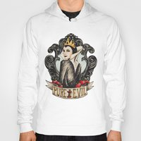 evil queen Hoodies featuring Evil Queen by Juu Monteiro