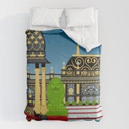 Prabhupada's Palace of Gold and City of God Comforters