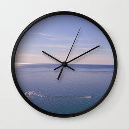 Lake Michigan Leggings and Tote Wall Clock
