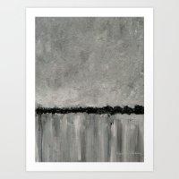 Grey Morning Art Print