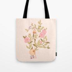RoseBird Tote Bag