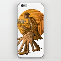 cowboy iPhone & iPod Skins featuring cowboy by Markmonk