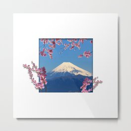 Fuji Frame Metal Print