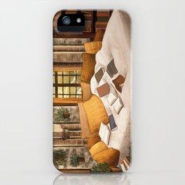 Hufflepuff home iPhone Case