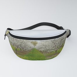 more rows of trees Fanny Pack