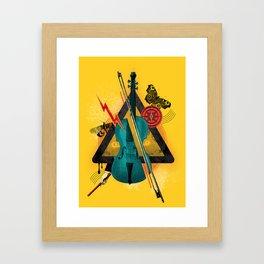 """Violin """"In Rilievo"""" Framed Art Print"""