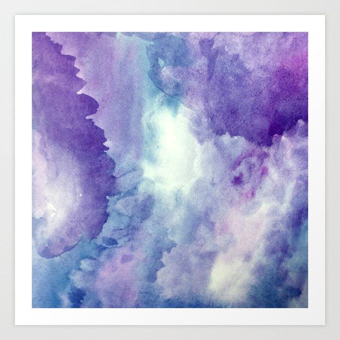 Wisteria Dreams Art Print