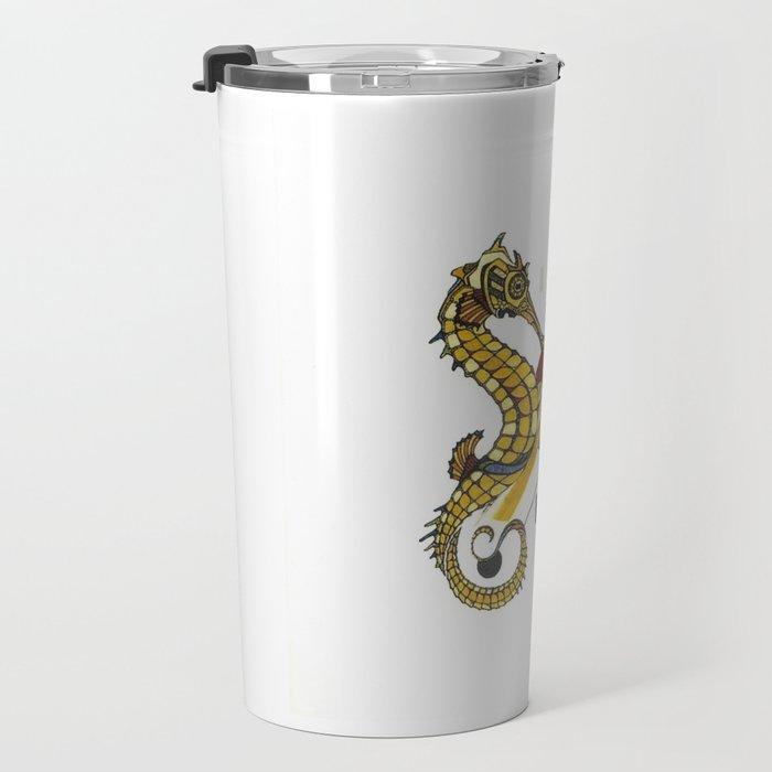 sea horse Travel Mug