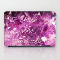 minerals iPad Cases featuring chase the miracle on minerals by mb13