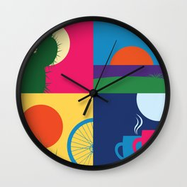 California Day Wall Clock