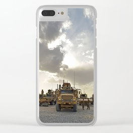 Route Clearance Platoon Army Clear iPhone Case