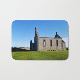 Old Church - Inis Mor, Aran Islands, Ireland Bath Mat