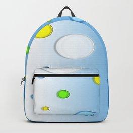 FLYING BALLS BLUE Backpack