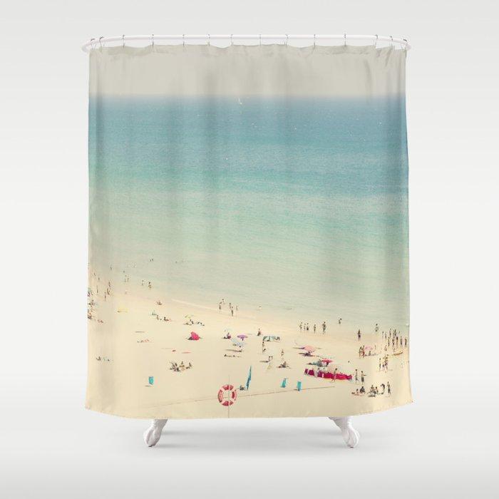 beach VII Shower Curtain