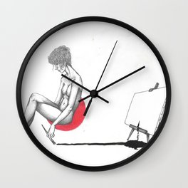 rossomelo4 Wall Clock