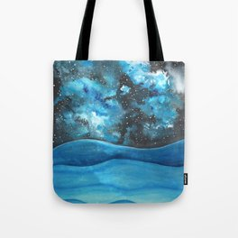 Beautiful Galaxy Tote Bag