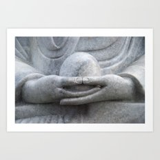 Buddhas Hands Art Print