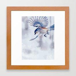 Winter Flight 1/2 Framed Art Print