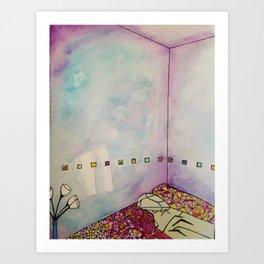 Cuboid Room Art Print