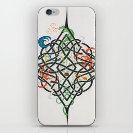Celtic Life Knot iPhone Skin