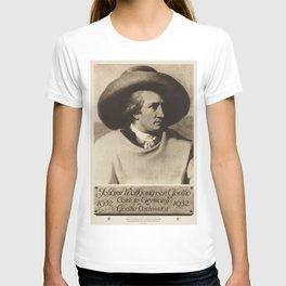Vintage poster - Johann Wolfgang von Goethe T-shirt