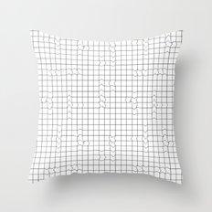 Grunge I. Throw Pillow