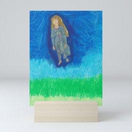I Am A Cosmic Mystery Mini Art Print