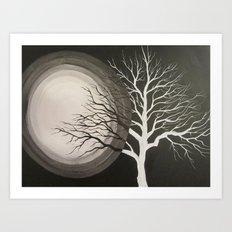 Shadow Tree - Part 1 Art Print