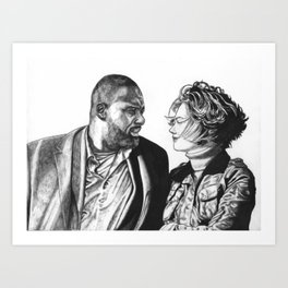 John and Alice Art Print
