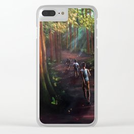 Untitled no. 2 Clear iPhone Case