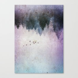 The Contradictory Flight Canvas Print