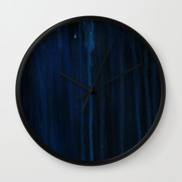 Rain Streams Wall Clock
