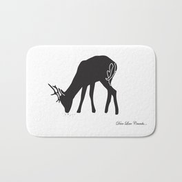 Deer Love Crumbs  Bath Mat