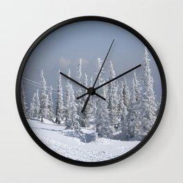 Winter season Wall Clock