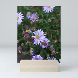 Light Purple Flowers Mini Art Print
