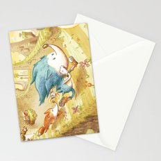 Starring Sonic and Miles 'Tails' Prower (Yellow Version) Stationery Cards