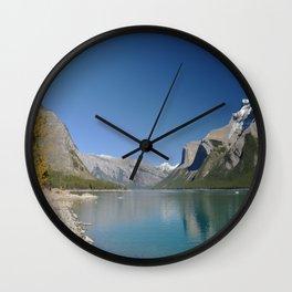 Glacial Lake Wall Clock