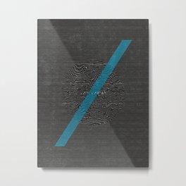 LILI/MI Metal Print