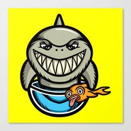 Spike the Shark Canvas Print