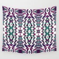 chaos Wall Tapestries featuring Chaos by Ayula