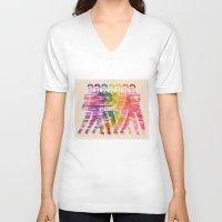 elvis presley V-neck T-shirts featuring Elvis Presley by manish mansinh