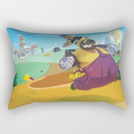 The Junkboys Take the Mushroom Kingdom Rectangular Pillow