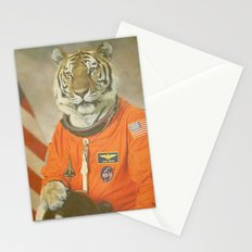 Moon Tiger  Stationery Cards