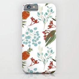 Australian Botanicals - White iPhone Case