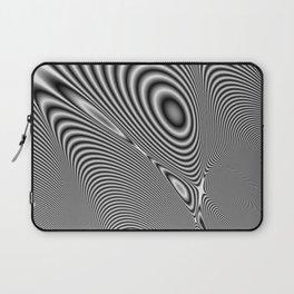 Fractal Op Art 1 Laptop Sleeve